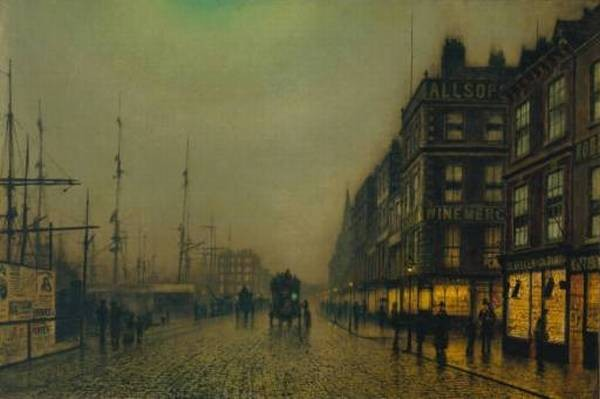 Liverpool Quay by Moonlight TCS